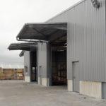 Nouveau bâtiment industriel de 1800m² à Mariembourg.